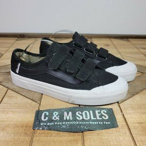 Vans Off The Wall Canvas Low Ultracush Black Sneakers